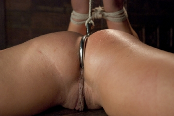 Abused, Ass Hooked And Strap-On Fucked