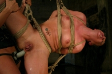 Julie Night Strung Up And Ass Fucked